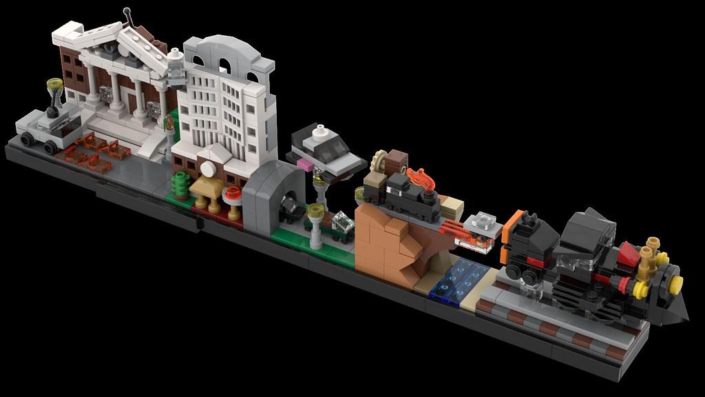 MOMAtteo79 - LEGO BTTF Skyline
