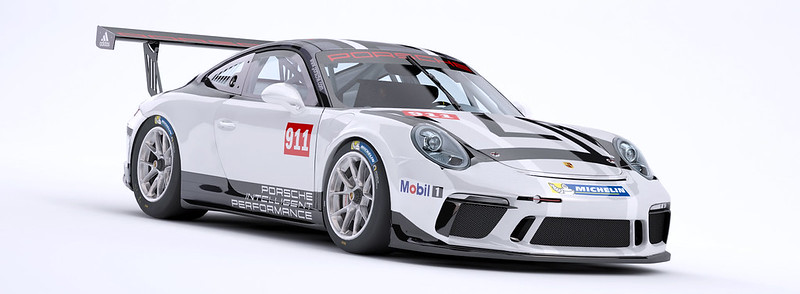 iRacing Porsche 911 GT3 Cup