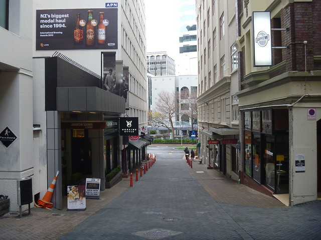 Laneway in Wellington, New Zealand