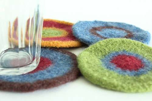 Felted Coasters - Amy One