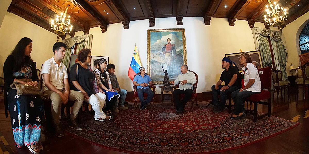 Gobierno Bolivariano se solidariza con la lucha histórica del Pueblo Mapuche