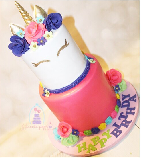 Unicorn Cake by JJ's Cake Pops