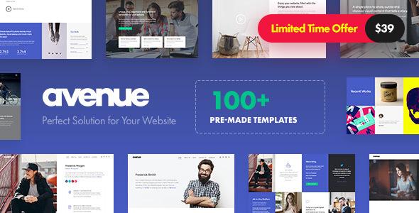 Avenue v1.2 - Creative Multi-Purpose WordPress Theme