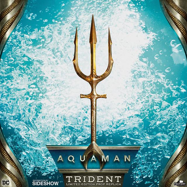 亞特蘭提斯的王者證明!! Factory Entertainment《水行俠》三叉戟 Trident 1:1 比例道具複製品