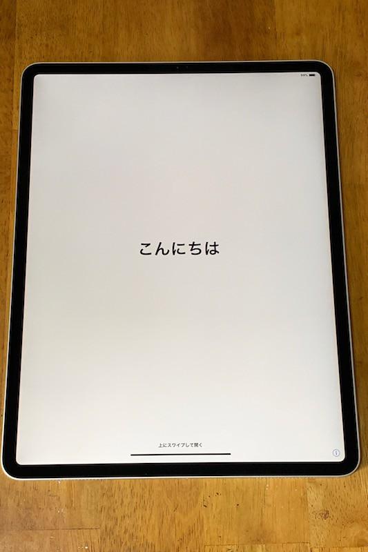 新型iPad Pro(2018)12.9インチ本体
