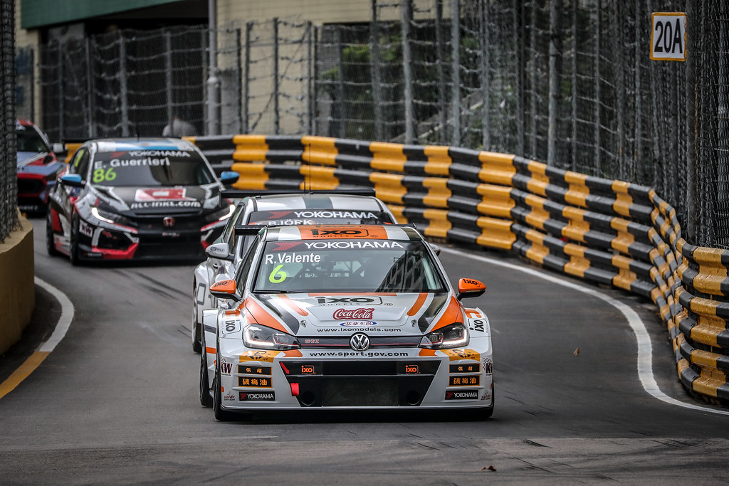 06 VALENTE Rui (MAC), PCT Racing T eam, Volkswagen Golf GTI TCR, action during the 2018 FIA WTCR World Touring Car cup of Macau, Circuito da Guia, from november  15 to 18 - Photo Alexandre Guillaumot / DPPI