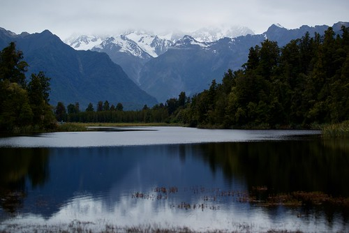 Lake Matheson Ripples