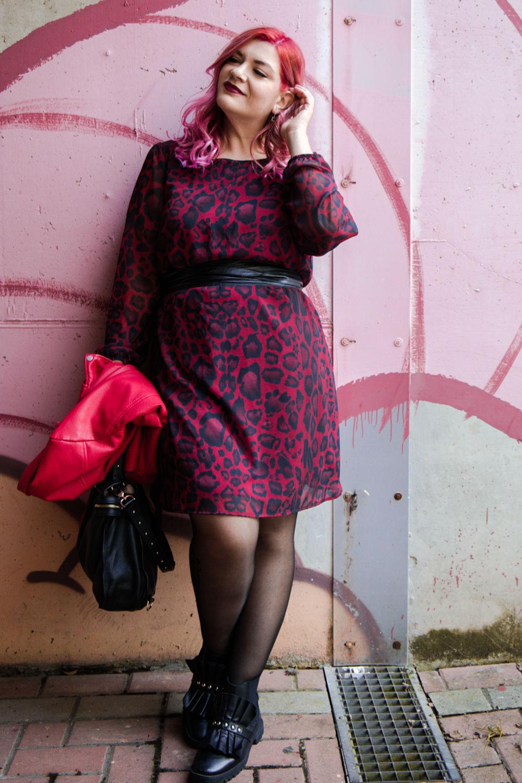 plus size curvy outfit abito leopardato miss big bones (2)