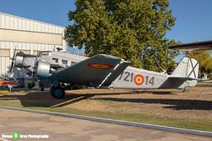 T2B-254-721-14---145---Spanish-Air-Force---CASA-352L-JU52---Madrid---181007---Steven-Gray---IMG_1491-watermarked