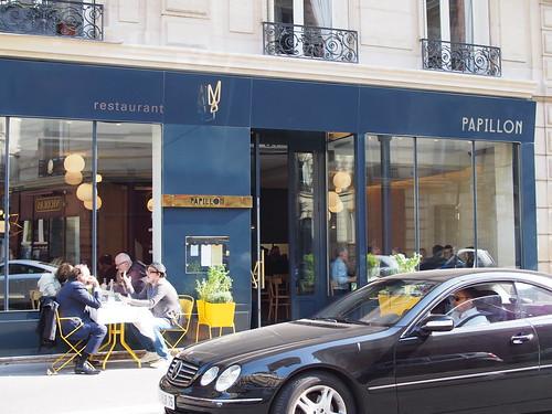 ムーリス出身天才シェフの店、Papillonでランチ