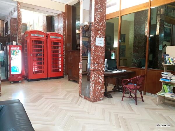 Hotel La Pace business area