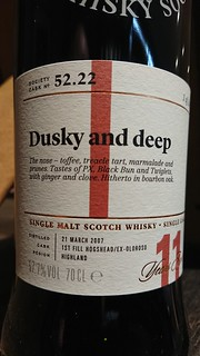 SMWS 52.22 - Dusky and deep