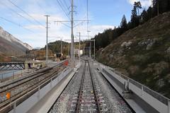 RhB Hinterrhein Bridge Sora Giuvna