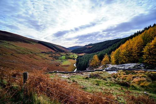 Road Outside Glengalough