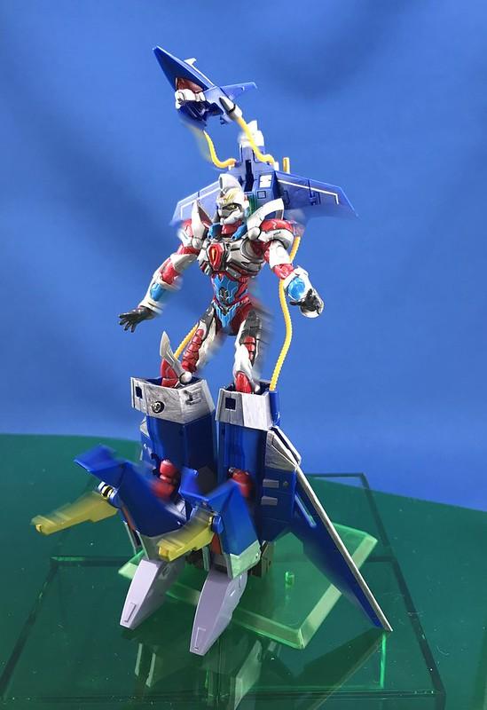 【第三合體型態新圖】《SSSS.GRIDMAN》ACTIBUILDER 電光超人古立特&DX支援武器套組(グリッドマン&DXアシストウェポンセット)