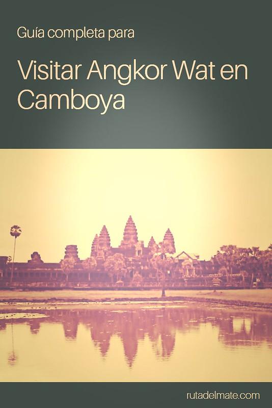 Visitar Angkor Wat Camboya