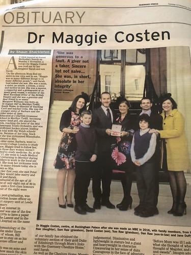 Dr Maggie Costen
