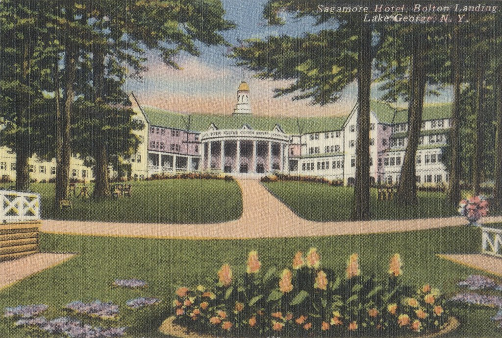 Sagamore Hotel and Bolton Landing - Lake George, New York