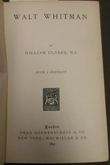 Penn Libraries 811W YCla copy 2: Title page