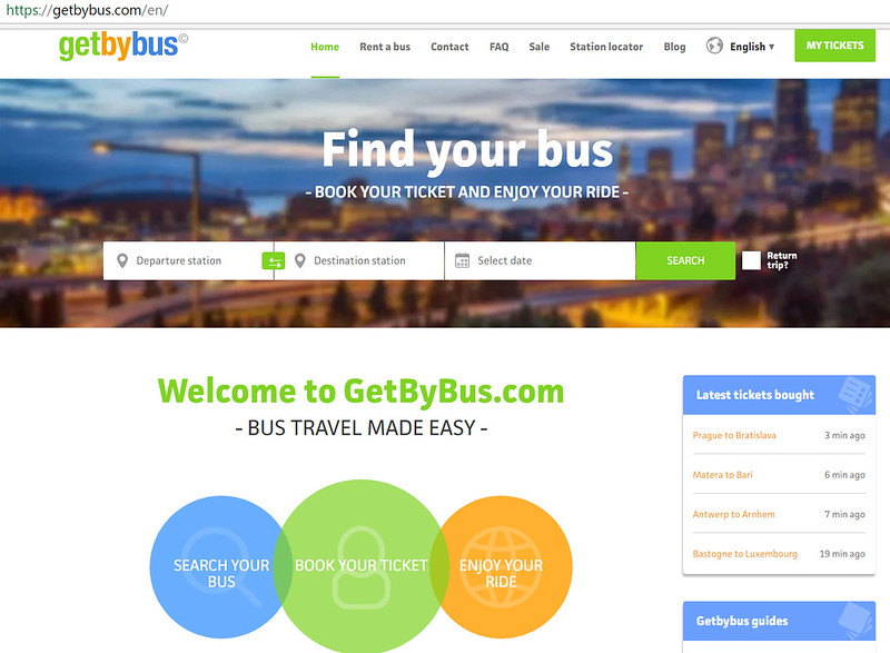 GetByBus Website