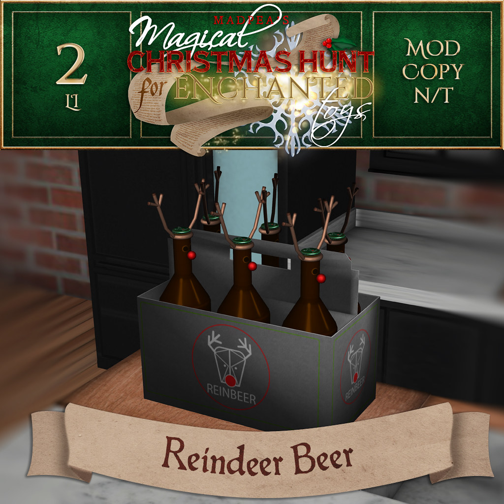 Reindeer Beer MadPea Christmas Hunt for Enchanted Toys - TeleportHub.com Live!