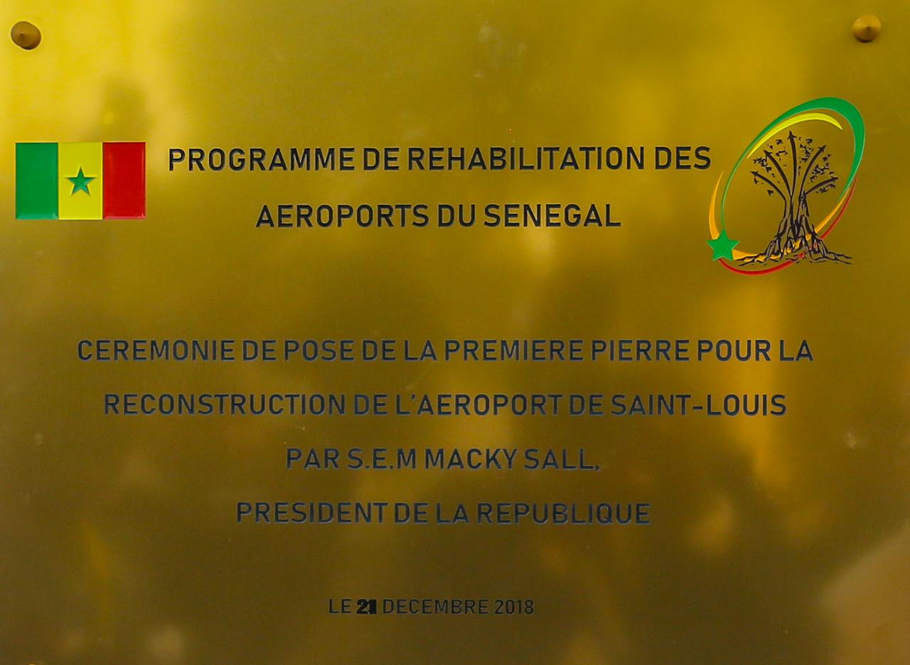 Lacement du programme de réhabilitation des aéroports du Sénégal