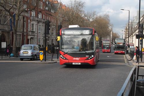 Abellio London 8861 1YX16OAP