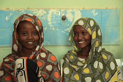 Faffi Abdulkadir and Ruqqia Abdulkadir a 12 and a 13 years old sisters have survived a first degree meld FGM