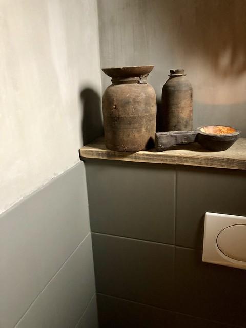 Hoffz potjes houten plank toilet