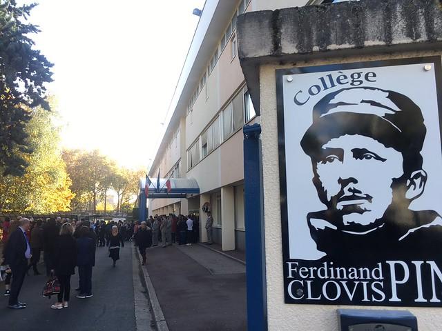 20181109_Cérémonie Ferdinand Clovis Pin