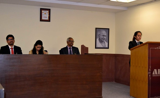 Intra Moot Court Competition 2018 at Asian Law College