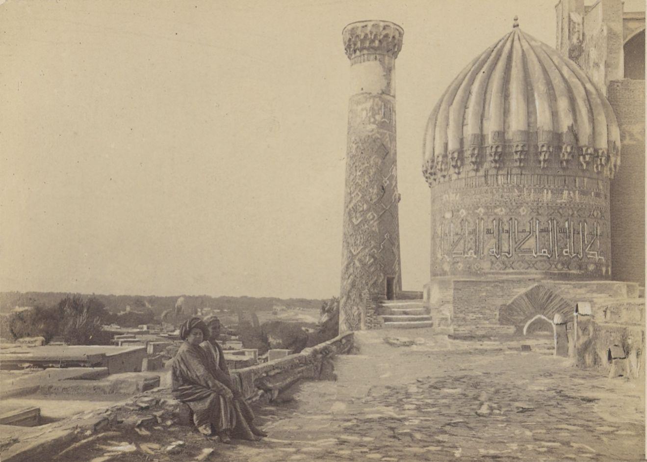 18. Самарканд. Мечеть Чар-Дар, вид с крыши