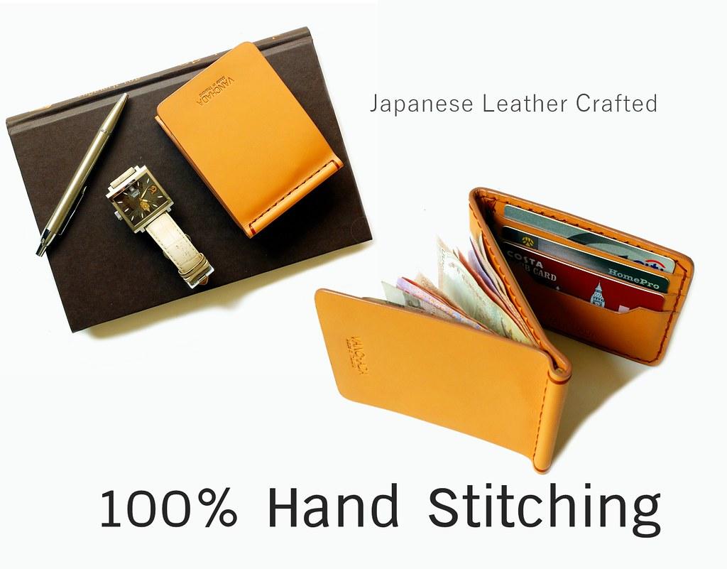 wallet handmade z formen