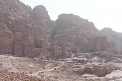 Looking at Royal Tombs in Petra (8)