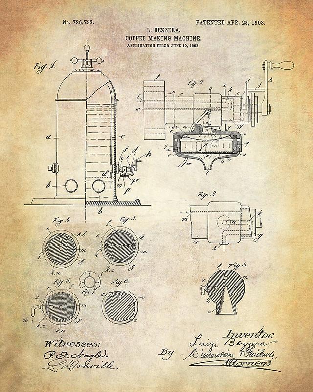 Bezzera Espresso Machine 1903