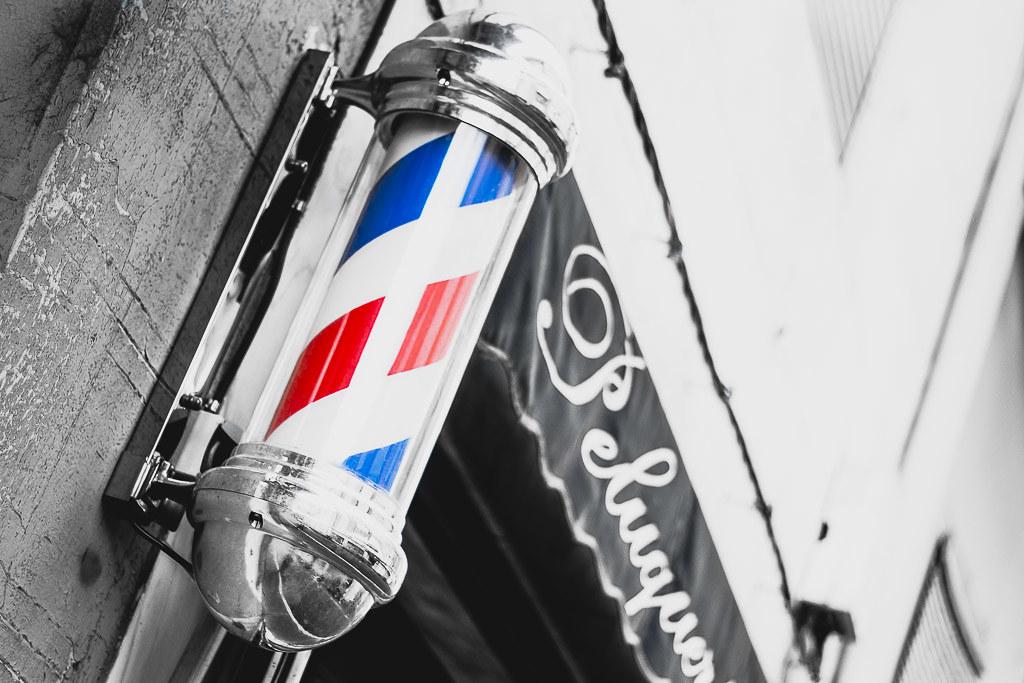 Desaturado Selectivo-Barber shop