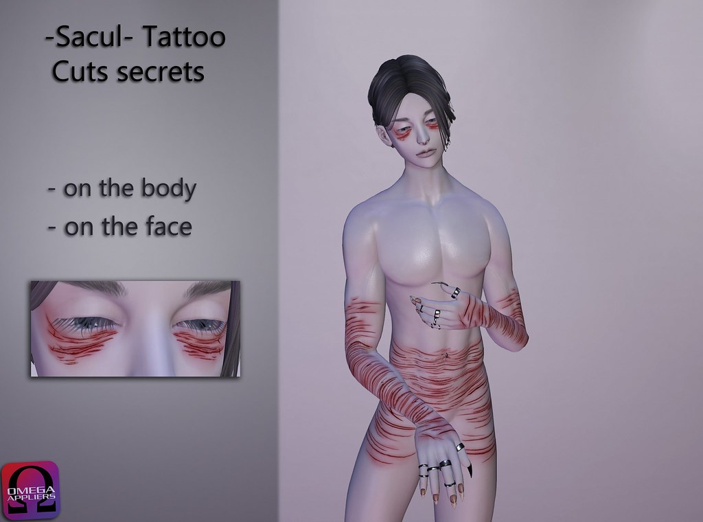 -Sacul- Tattoo Cuts secrets (Omega)
