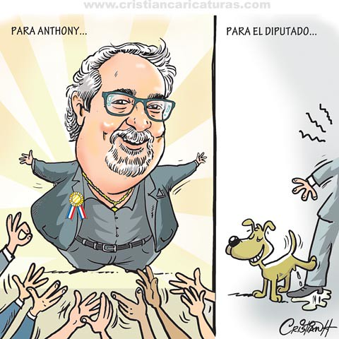 Caricatura Anthony R