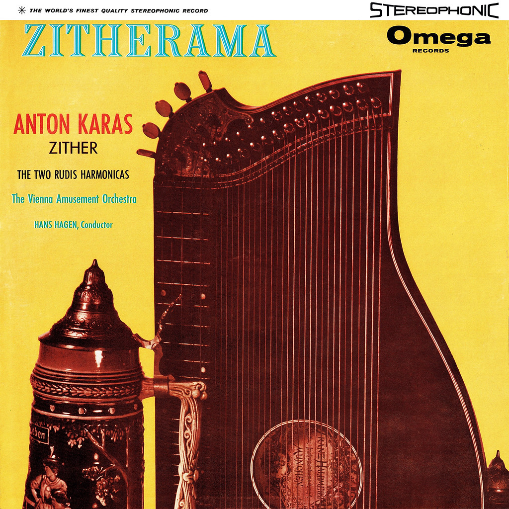 Anton Karas, The Two Rudis Harmonicas, Hans Hagen – Zitherama