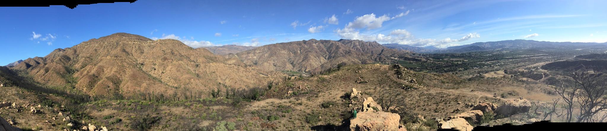 Kennedy Ridge panorama