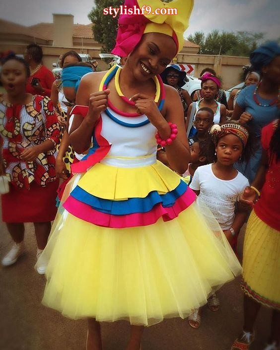 Winnie Mashaba Outfits: Sepedi Traditional Wedding Dresses Designs • Stylish F9