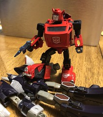 MP-21R - Red Bumblebee. It was nice to see this in my stocking on Saint Nicks Day ????