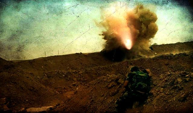 kurdistan peshmerga wars photography