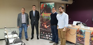 NEW & RETRO Valladolid GAME FESTIVAL 2018 Fotos Rueda de Prensa