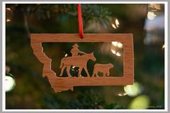 Montana on the Christmas Tree