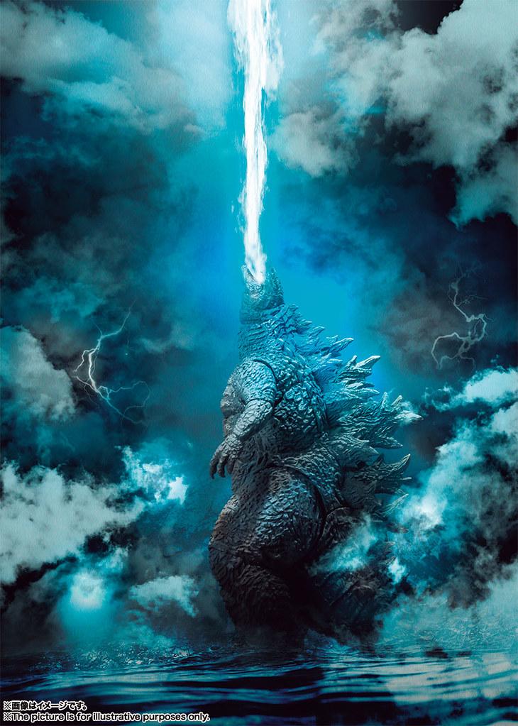 怪獸之王再臨!S.H.MonsterArts《哥吉拉2:怪獸之王》哥吉拉(2019) |ゴジラ(2019)
