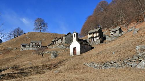 Monte di Fuori, Cavergno, Valle Maggia. Canton Ticino, Svizzera