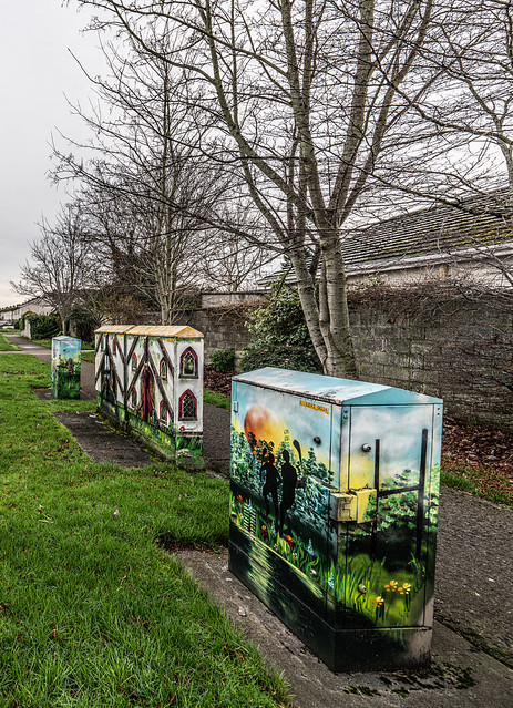 EXAMPLES OF PAINT-A-BOX STREET ART IN LEIXLIP [PAINTED UTILITY CABINETS]-148218