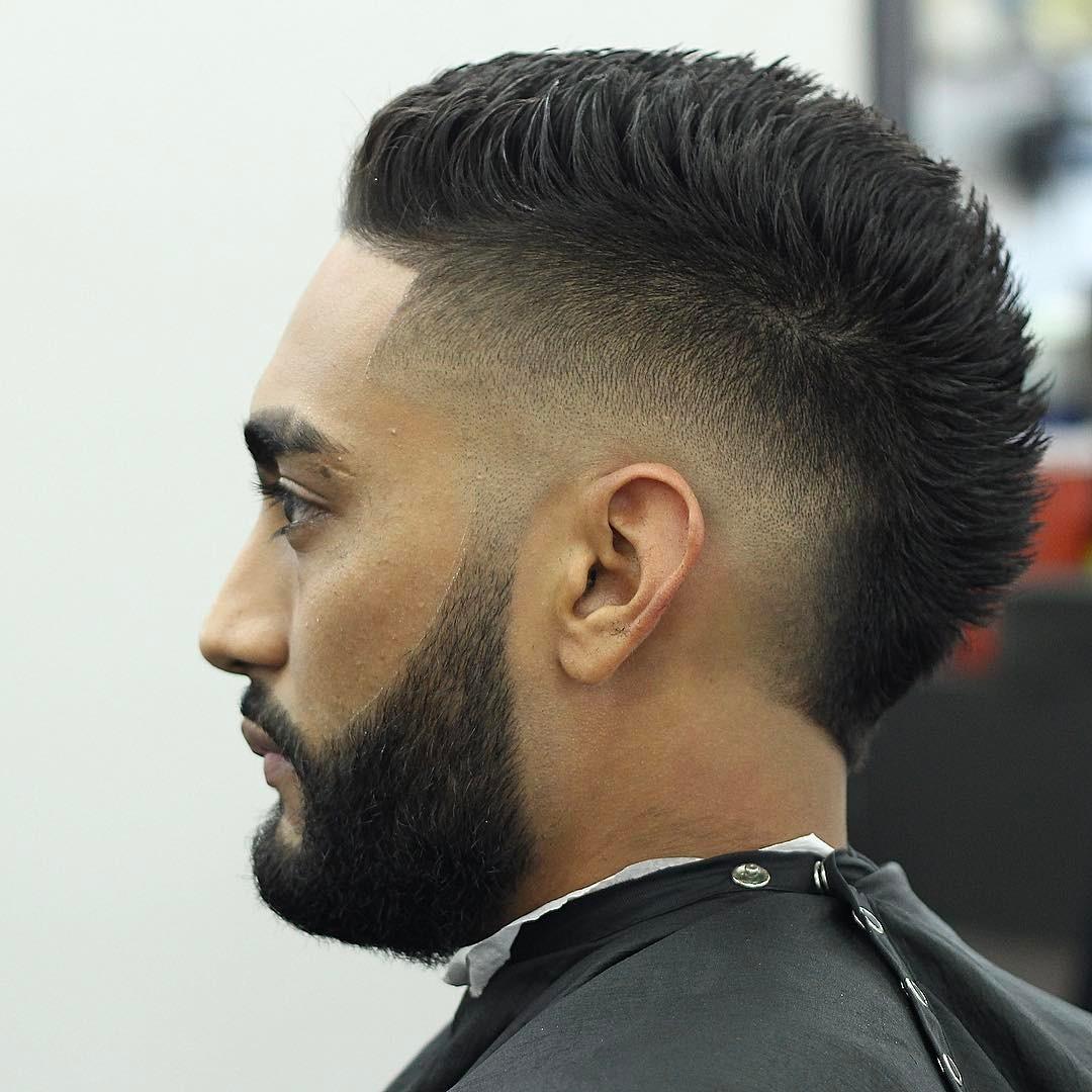 +5 Best Mohawk Fade Haircut for Men 2019