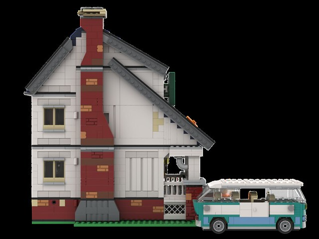 Lego The Loud House Sideview